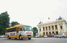 Bonbon Hanoi, tour de la capitale en bus vintage