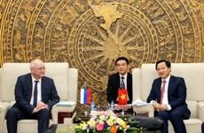 Le Vietnam et la Russie renforcent leur coopération dans la lutte anti-corruption