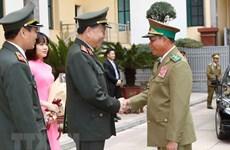 Les ministères vietnamien et laotien de la Sécurité publique renforcent leurs liens