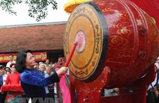 La Fête du temple de Kinh Duong Vuong s'ouvre à Bac Ninh