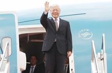Le secrétaire général et président Nguyên Phu Trong attendu au Laos et au Cambodge