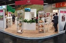 Des produits agricoles bio du Vietnam exposés à la foire Biofach à Nuremberg
