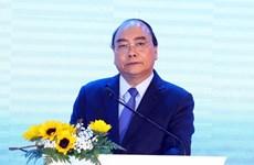 Le PM inaugure une usine de production d'eau pure, de boissons végétales et de jus de fruits