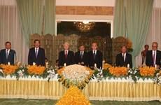 Banquet national en l'honneur du SG du Parti et président vietnamien Nguyen Phu Trong
