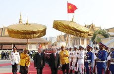 La presse cambodgienne apprécie la visite du dirigeant vietnamien Nguyen Phu Trong