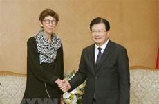 Le vice-PM Trinh Dinh Dung exhorte des investissements norvégiens au Vietnam
