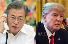 Sommet Etats-Unis-RPDC: conversation téléphonique Donald Trump et Moon Jae-in