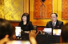 """Conférence de presse : la RDPC annonce la """"proposition réaliste"""" lors du sommet avec les États-Unis"""