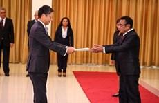 L'ambassadeur vietnamien présente ses lettres de créance au président est-timorais