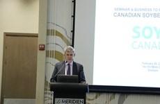 Soya: des entreprises canadiennes sondent les opportunités au Vietnam