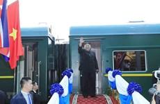 Le président Kim Jong-un termine sa visite au Vietnam par Lang Son