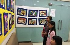 Peintures : Au cœur du printemps, dans les yeux d'enfants