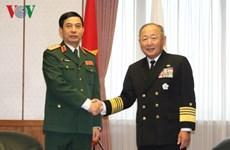 Le Vietnam et le Japon promeuvent la coopération dans la défense