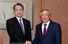 Le président de la Cour populaire suprême en visite de travail au Japon