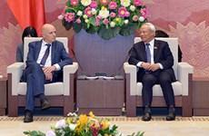 Un vice-président de l'AN reçoit le groupe d'amitié Belgique-Vietnam