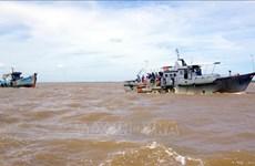 Quinze pêcheurs secourus au large du Centre