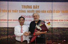 Une exposition sur les Bru-Vân Kiêu à Quang Tri