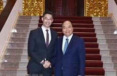 Le PM Nguyen Xuan Phuc reçoit l'économiste allemand Philipp Rosler