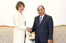 Le PM reçoit l'ambassadrice des Pays-Bas