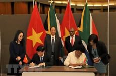Le Vietnam et l'Afrique du Sud veulent renforcer leur coopération