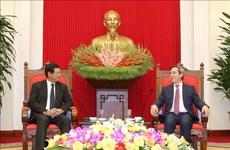 Les potentiels de coopération Vietnam-Laos restent énormes