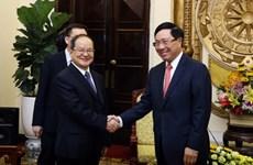 Renforcement des relations de coopération Vietnam-Chine