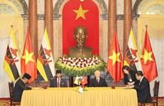 Déclaration commune Vietnam-Brunei sur l'établissement d'un partenariat intégral