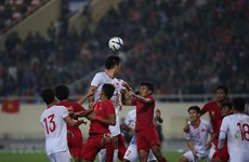 Championnat AFC U23 : le Vietnam montre sa classe