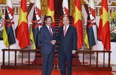 Le PM Nguyen Xuan Phuc souligne l'importance du partenariat intégral Vietnam-Brunei