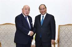 Le PM reçoit le conseiller spécial du cabinet du PM japonais