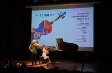 Luong Tô Nhu et Vincent Fillatreau en concert à Hanoi