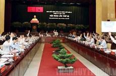 Clôture de la 26e réunion du Comité municipal du Parti de Ho Chi Minh-Ville