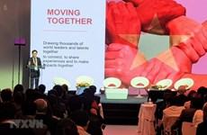 La première édition du Vietnam Global Leaders Forum se tient en France
