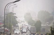 """Pollution aux particules fines à Hanoi : L'information """"n'est pas exacte"""""""
