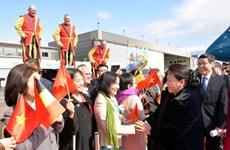 La présidente de l'AN Nguyên Thi Kim Ngân entame sa visite de travail au Parlement européen