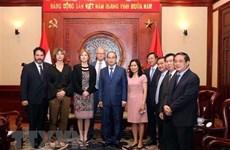 La ministre néerlandaise de l'Infrastructure à Hô Chi Minh-Ville