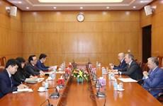 Une délégation du Parti communiste de la Fédération de Russie en visite au Vietnam