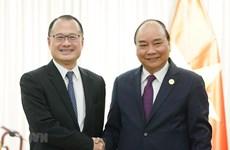 Le PM rencontre des représentants d'entreprises chinoises