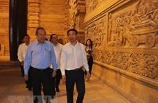Le vice-PM Truong Hoa Binh inspecte les préparatifs du Vesak 2019 à Ha Nam