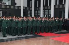 Plus d'un millier de délégations ont rendu hommage à l'ancien président Le Duc Anh