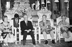 Décès de l'ancien président Le Duc Anh : Des dirigeants étrangers présentent leurs condoléances