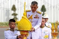 Maha Vajiralongkorn couronné roi de Thaïlande