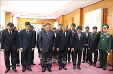 Les hommages affluent après le décès de l'ancien président Lê Duc Anh