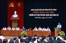 Le PM appelle Hai Phong à investir dans l'économie numérique