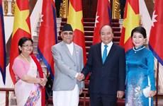 Déclaration commune Vietnam-Népal