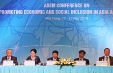 La conférence de l'ASEM sur le développement inclusif se clôt
