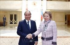 La coopération parlementaire efficace contribue à resserrer les liens Vietnam-Russie