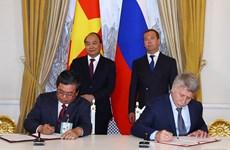 Les PM vietnamien et russe saluent les résultats de leur entretien