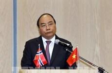 Le PM Nguyen Xuan Phuc appelle le Vietnam et la Norvège à élargir leur coopération économique