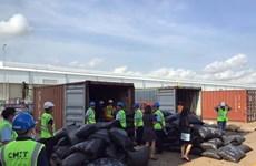 Grosse saisie de plus de 5 tonnes d'écailles de pangolin au Sud